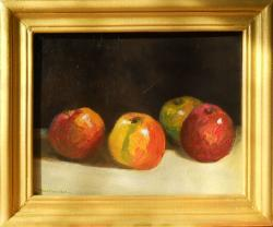 Picturi de vara patru mere