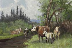 Picturi de vara peisaj de vara 16.