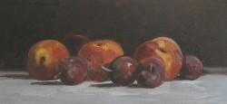 Picturi de vara Piersica si prune