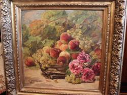 Picturi de vara Natura statica cu fructe