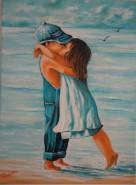Picturi de vara Primul sarut