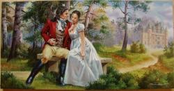Picturi de vara Love Story