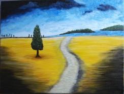 Picturi de vara Primul drum...