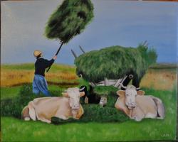 Picturi de vara Carul