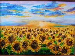 Picturi de vara Surasul soarelui