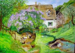Picturi de vara casa bunicilor