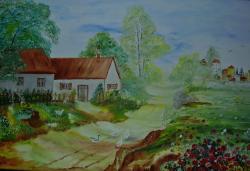 Picturi de vara Departe de oras