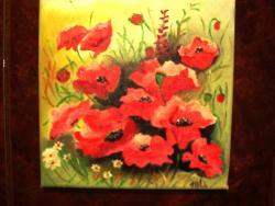 Picturi de vara Flori de mac