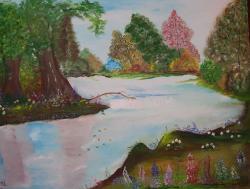 Picturi de vara Murmur de apa