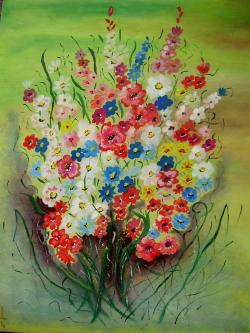Picturi de vara Vara colorata