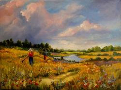 Picturi cu peisaje Zi de vara 3