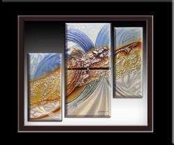 Picturi abstracte/ moderne abstract triptik---8y