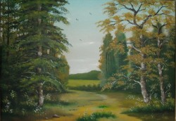 Picturi de vara Margine de padure (1985)