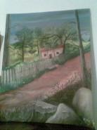 Picturi de vara Casa la tara