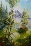 Picturi de vara Pe colina