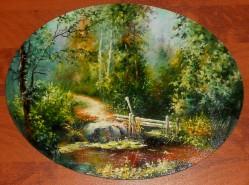 Picturi de vara Podet
