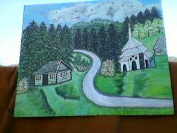 Picturi de vara un colt din Bucovina