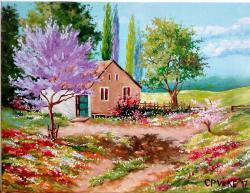 Picturi de vara Culoarea verii