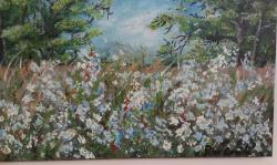 Picturi de vara flori de camp