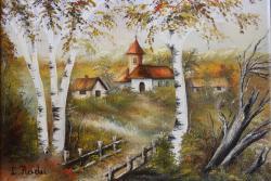Picturi de vara Manastire