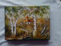 Picturi de vara Manastire 1