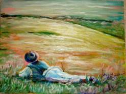 Picturi de vara La poalele dorului