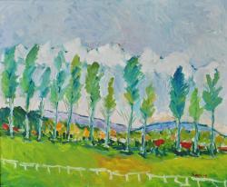Picturi de vara G111-PLOPI LA ȘIMIAN