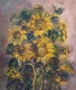 Picturi de vara Floarea soarelui
