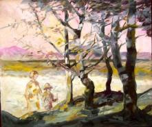 Picturi de vara Copaci vara