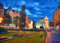 Picturi de vara Centrul orasului timisoara