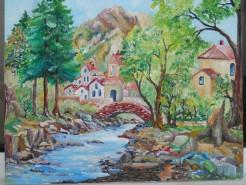 Picturi de vara Satuc la munte