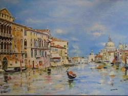 Picturi de vara Canal Venetia .....