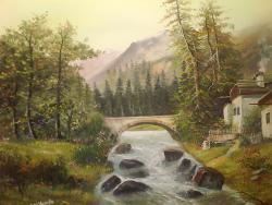 Picturi de vara chemarea muntelui .