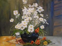 Picturi de vara Decor cu flori .....