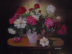 Picturi de vara Decor cu flori 3 ..