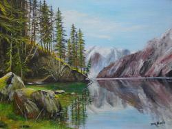 Picturi de vara peisaj de munte 2
