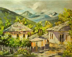 Picturi de vara Peisaj pitoresc-simfonia