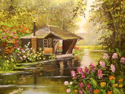 Picturi de vara roua dimineti 4