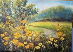 Picturi de vara La marginea pădurii.