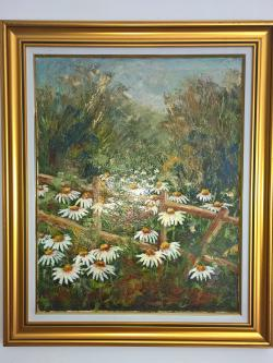 Picturi de vara Printre margarete