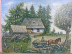 Picturi de vara Plecarea motului la lucru