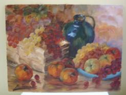 Picturi de vara Ceramica si fructe
