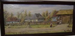 Picturi de vara Colt de rai satul mara maramures