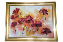 Picturi de vara Tablou cu maci 2