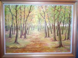Picturi de vara Padure de stejar 2