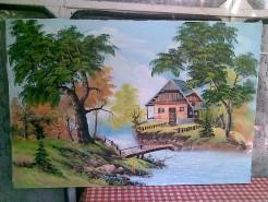 Picturi de vara Cabana