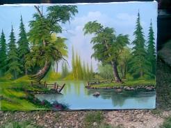 Picturi de vara Copacul secular