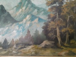 Picturi de vara Creasta de munte
