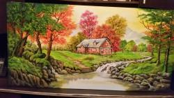 Picturi de vara hanul din poiana