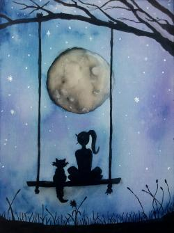 Picturi decor Moon